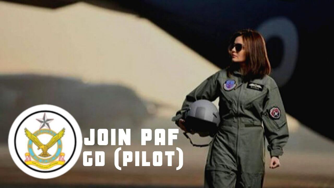 JOIN PAF GD (PILOT)