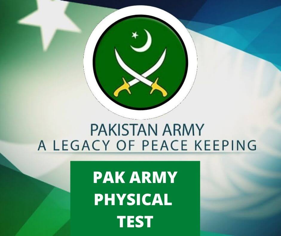 PAK Army Physical Test