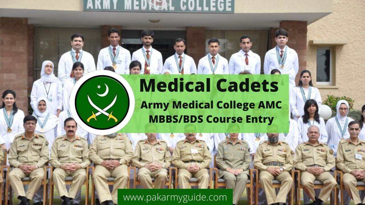 Army Medical Cadet Course 2021