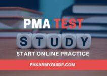 PMA INITIAL TEST