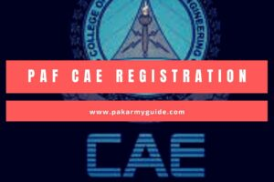 PAF CAE Registration